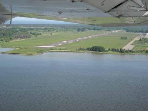 Right Base til rwy19 i Peenemunde, foto Svein Olav Bjerkeset
